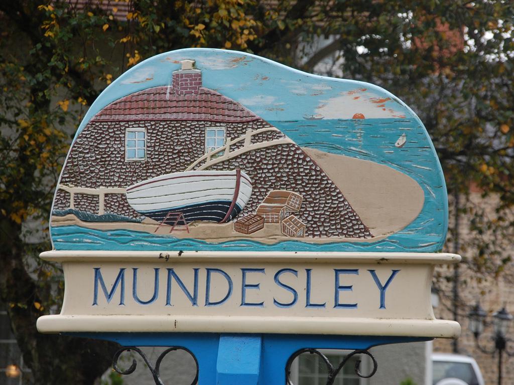 Mundesley Sign